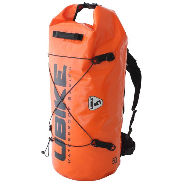 Motorcycle Backpacks UBIKE Cylinder Bag 30 L Orange