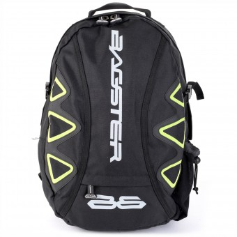 Motorcycle Backpacks Bagster Player Black Fluo