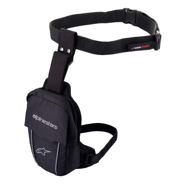Motorcycle Backpacks Alpinestars Access Thigh Bag Black