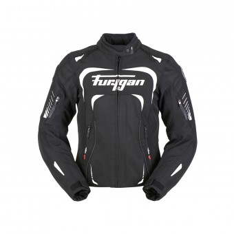 Motorcycle Jackets Furygan Adria Black White