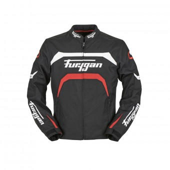 Motorcycle Jackets Furygan Arrow Black White Red