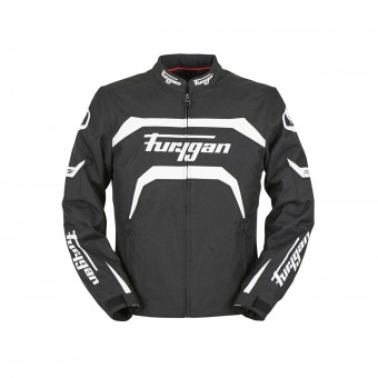Motorcycle Jackets Furygan Arrow Black White
