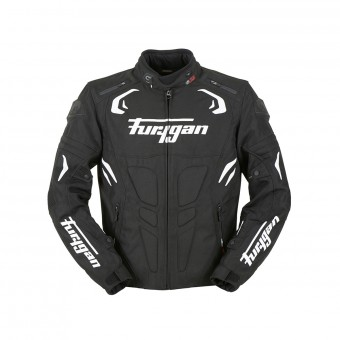 Motorcycle Jackets Furygan Blast Black White