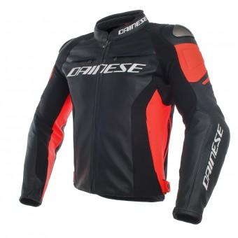 Motorcycle Jackets Dainese Racing 3 Black Red