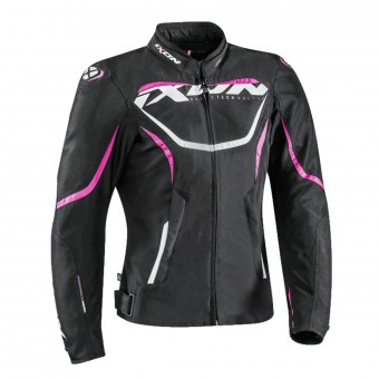 Motorcycle Jackets Ixon Sprinter Lady Black Fushia