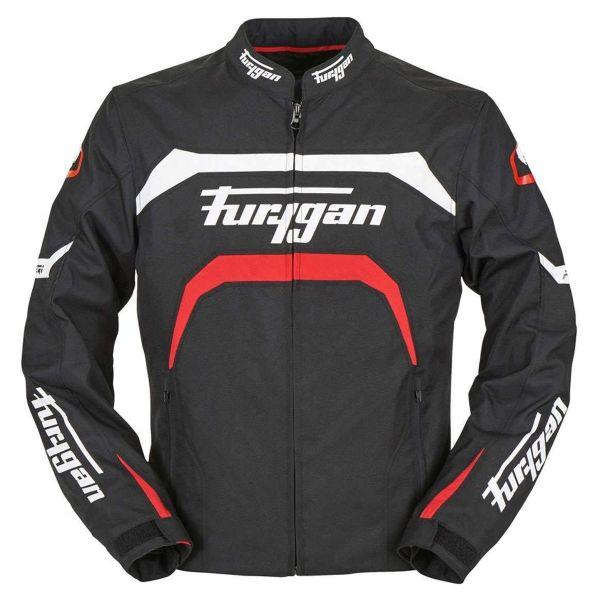 Motorcycle Jackets Furygan Arrow Black White Red