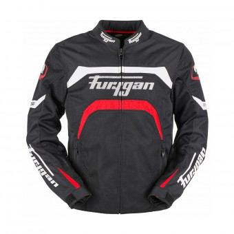 Motorcycle Jackets Furygan Arrow Vented Black White Red