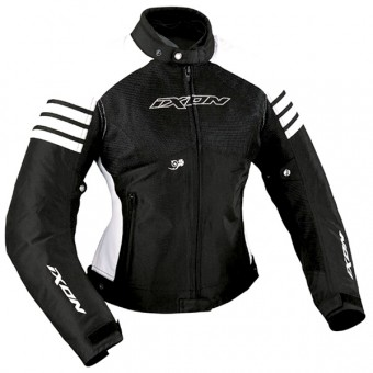 Motorcycle Jackets Ixon Electra Black White