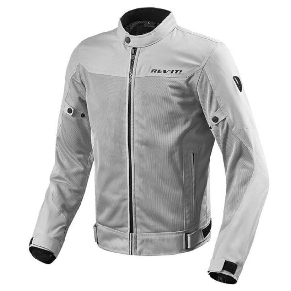 Motorcycle Jackets REV'IT Eclipse Silver