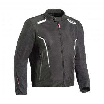Motorcycle Jackets Ixon Cool Air Black White
