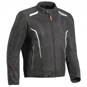 Motorcycle Jackets Ixon Cool Air C Black White