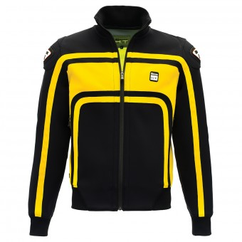 Motorcycle Jackets Blauer Easy Rider Black Yellow