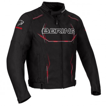 Motorcycle Jackets Bering Forcio Black White Red