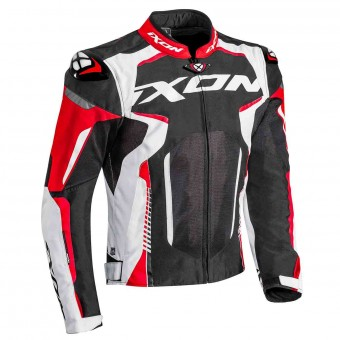 Motorcycle Jackets Ixon Gyre Black White Red