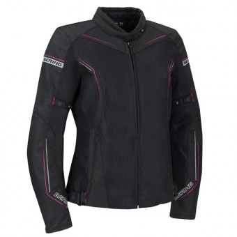Motorcycle Jackets Bering Lady Cancun Black Mauve