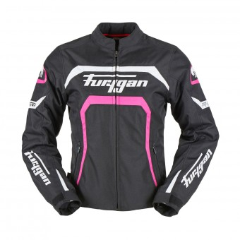Motorcycle Jackets Furygan Mystic Lady Black Pink