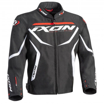 Motorcycle Jackets Ixon Sprinter Kid Black White