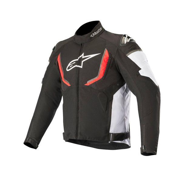 Motorcycle Jackets Alpinestars T-GP R V2 Waterproof Black White Red