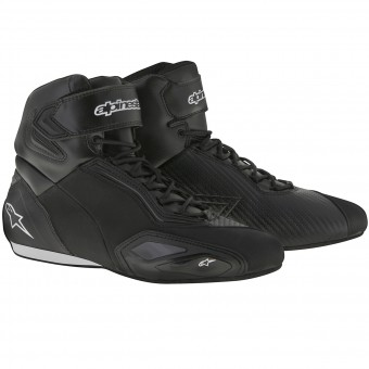 Motorcycle Trainers Alpinestars Faster 2 Black