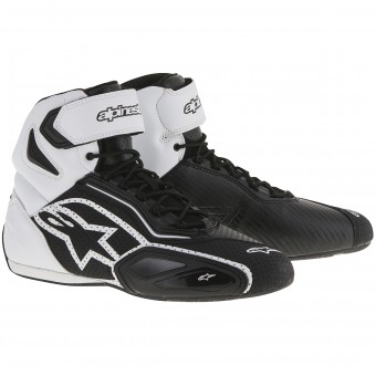 Motorcycle Trainers Alpinestars Faster 2 Vented Black White
