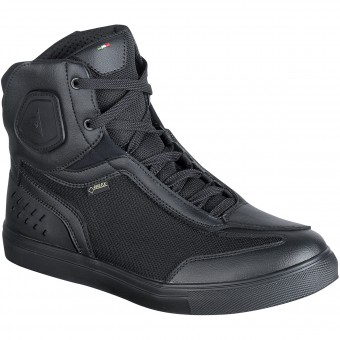 Motorcycle Trainers Dainese Street Darker Gore-Tex Black