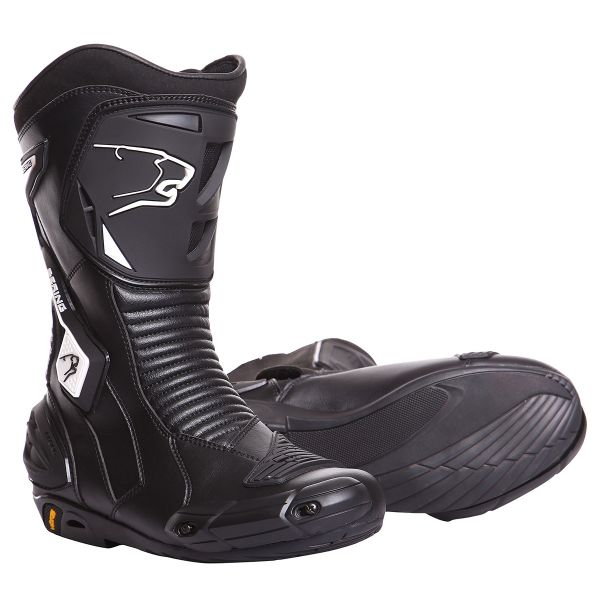 Motorcycle Boots Bering X Race-R Black