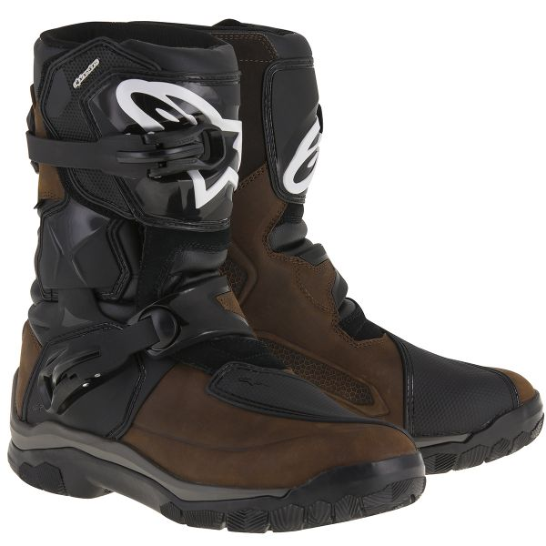 Motorcycle Boots Alpinestars Belize Drystar Oiled Leather