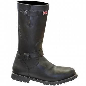 Motorcycle Boots Merlin Brocton Lady Black Boots
