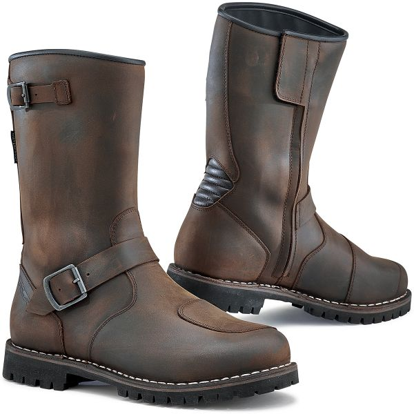Motorcycle Boots Tcx Fuel Waterproof Vintage Brown At The Best Price