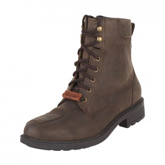 Motorcycle Boots Furygan Melbourne D3O WP Brown