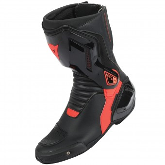 Motorcycle Boots Dainese Nexus Black Red Fluo