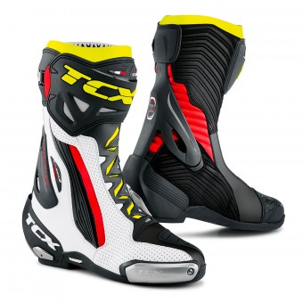 Motorcycle Boots TCX RT-Race Pro Air White Red Yellow