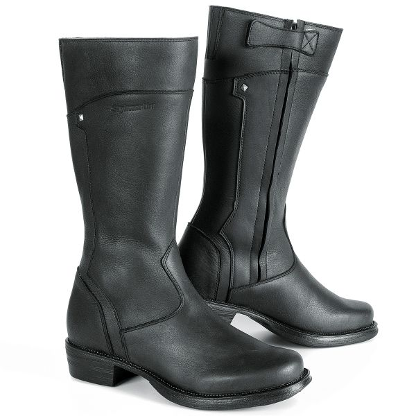 Motorcycle Boots Stylmartin Sharon Lady Black