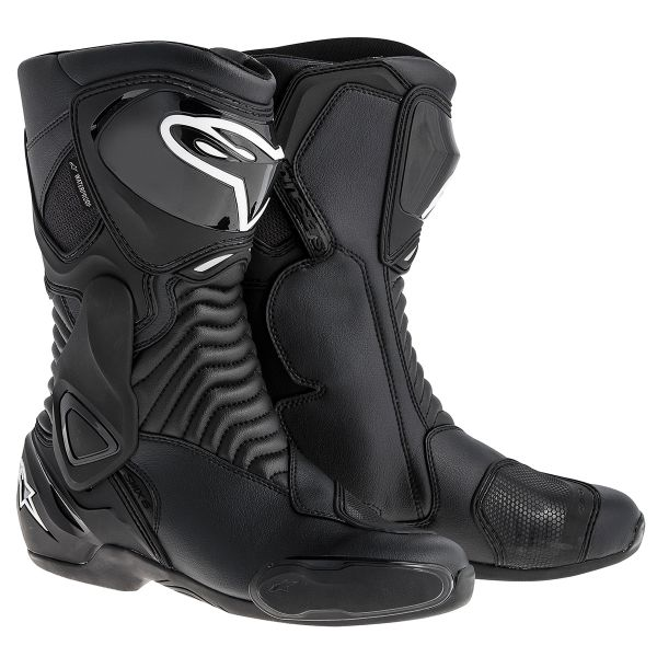 Motorcycle Boots Alpinestars SMX 6 Waterproof Black