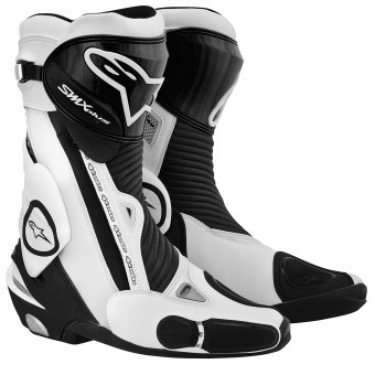 Motorcycle Boots Alpinestars SMX Plus Black White