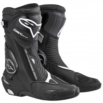 Motorcycle Boots Alpinestars SMX Plus Gore-Tex Black
