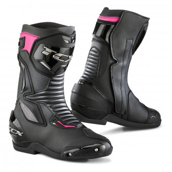 Motorcycle Boots TCX SP-Master Lady Black Fuchsia