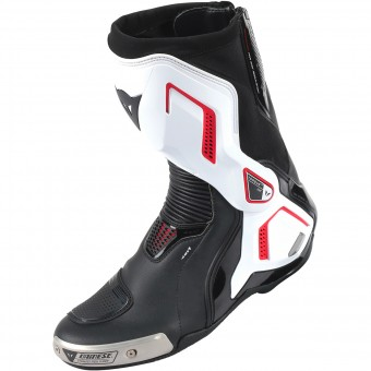 Motorcycle Boots Dainese Torque D1 Air Black White Red