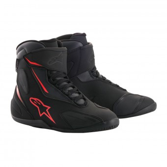 Motorcycle Shoes Alpinestars Fastback 2 Drystar Black Anthracite Red