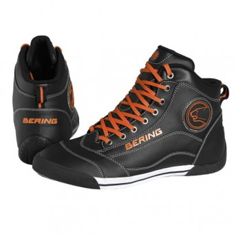 Motorcycle Shoes Bering Pop Black Orange