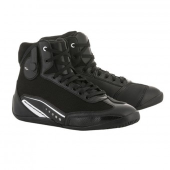 Motorcycle Shoes Alpinestars Stella AST-1 Black White