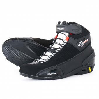 Motorcycle Shoes V'Quattro Supersport Vented Black