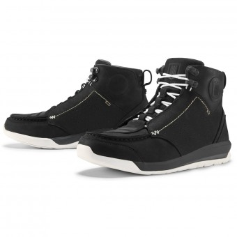Motorcycle Shoes ICON Truant 2 Black
