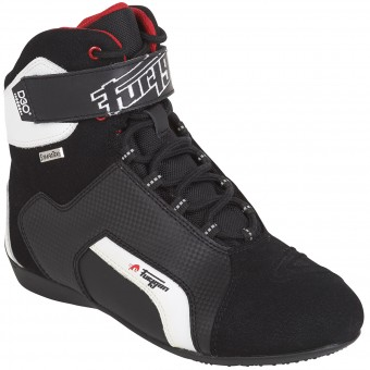 Motorcycle Shoes Furygan Jet D30 Sympatex Black White