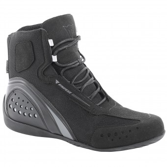 Motorcycle Shoes Dainese Motorshoe D-WP Black Anthracite