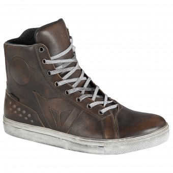 Motorcycle Shoes Dainese Street Rocker D-WP Brown