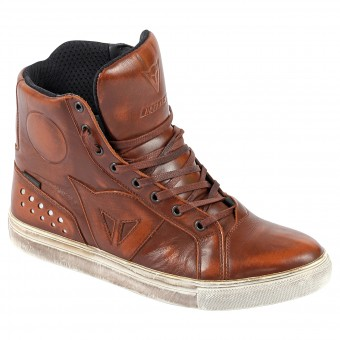 Motorcycle Shoes Dainese Street Rocker D-WP Tan
