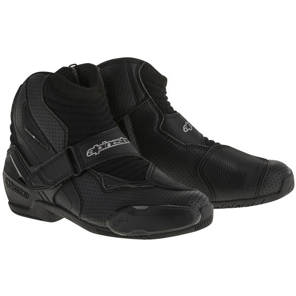 Mid-Boots Alpinestars SMX-1 R Vented Black