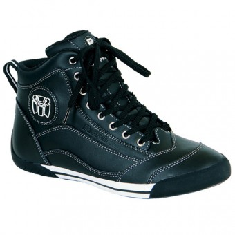 Motorcycle Shoes Bering Pop Black