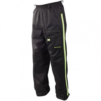 Rain Pants Bering Trousers Chicago Black Yellow Fluo